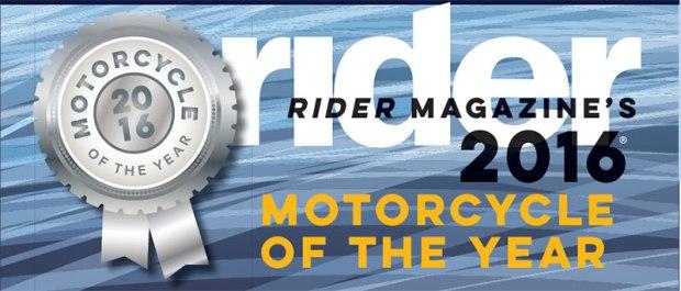 Rider Magazine's 2016 MOTY