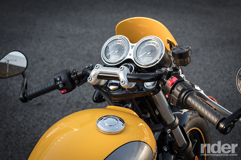 2017 triumph street cup - first ride review | rider magazine