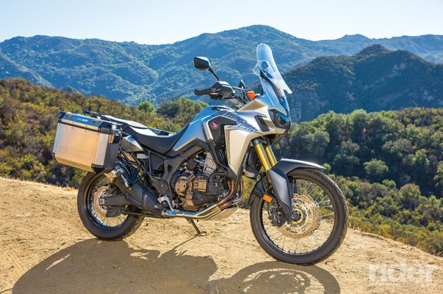 2016 Honda Africa Twin DCT tour test