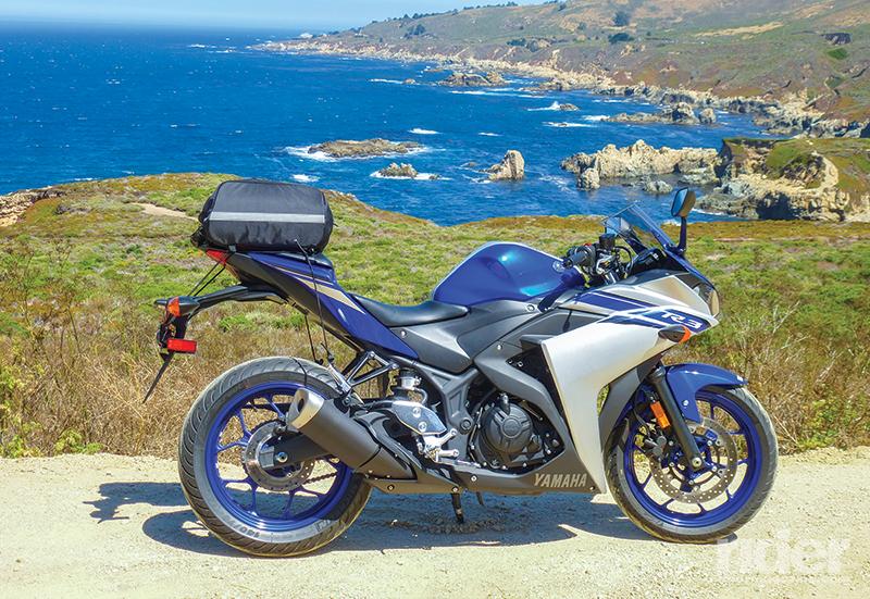 2016 Yamaha YZF-R3 - Touring Test | Rider Magazine