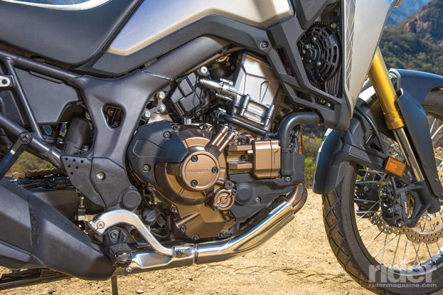 2016 Honda Africa Twin DCT tour test