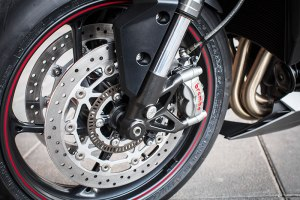 2017 Triumph Street Triple RS front wheel