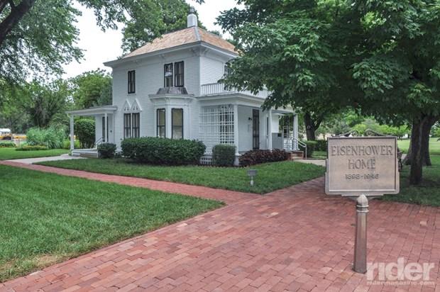 Dwight D. Eisenhower Presidential Library, Abilene, Kansas.
