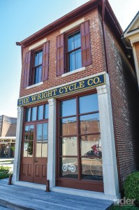 "Orville and Wilbur had the ""Wright stuff."" The restored Wright Cycle Company building is part of the Dayton Aviation Heritage Museum in Ohio."