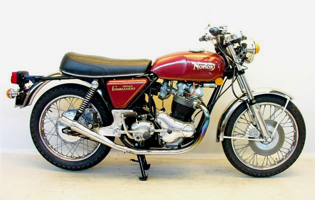 1973 Norton Commando 850.