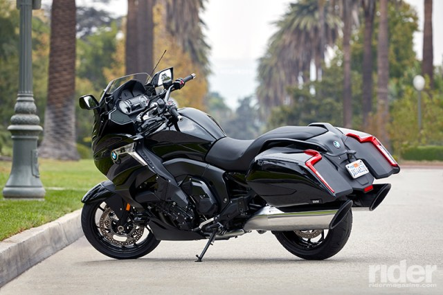 2018 BMW K 1600 B bagger. Photos courtesy of BMW Motorrad.