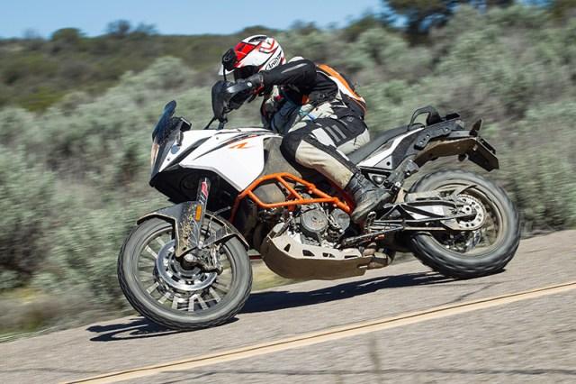 2017 KTM 1090 Adventure R action