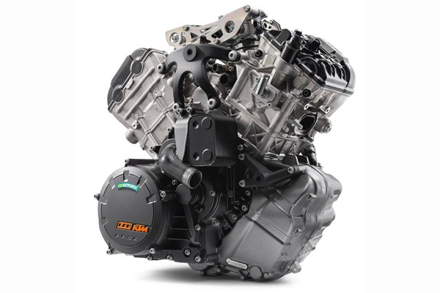 2017 KTM 1090 Adventure R engine