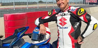 Kevin Schwantz with the 2017 Suzuki GSX-R1000.