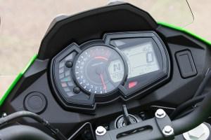 2017 Kawasaki Versys-X 300 instruments