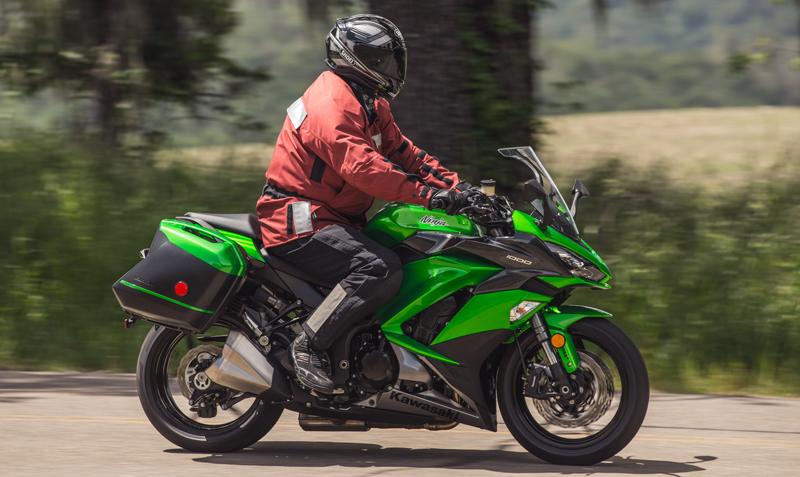 2017 kawasaki ninja 1000 abs - first ride review | rider magazine
