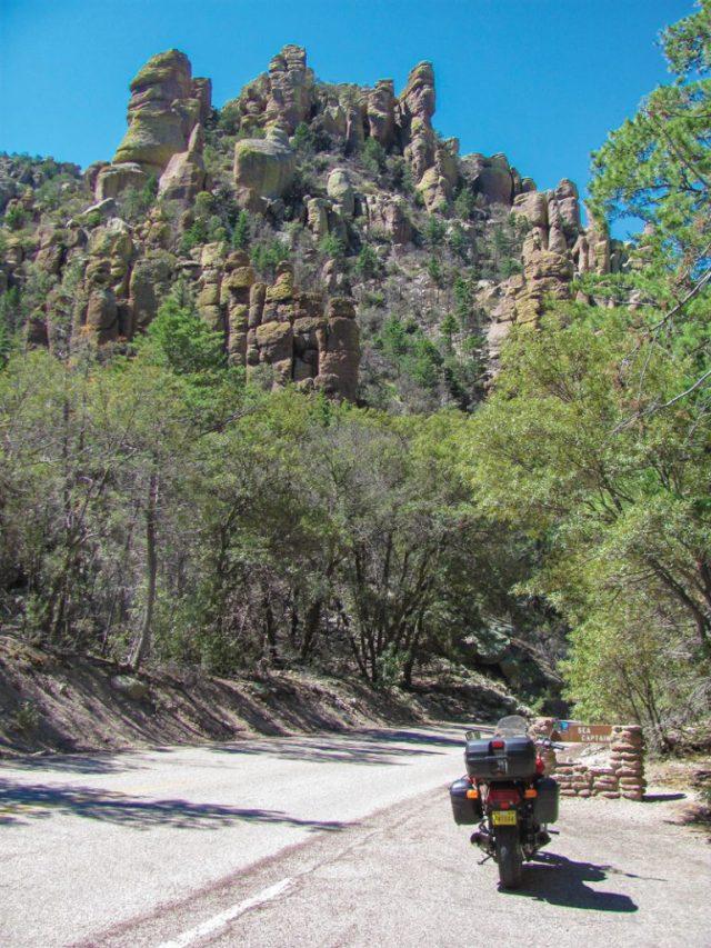 Arizona motorcycle ride