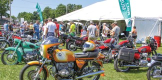 AMA Vintage Motorcycle Days 2014.