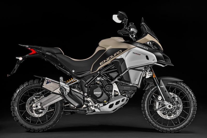 The Ducati Multistrada 1200 Enduro Pro is here