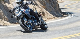 2018 Suzuki V-Strom 1000 action