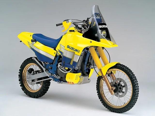 1991 Suzuki DR-Z Dakar Rally race motorcycle