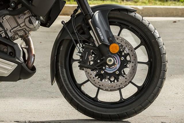 2018 Suzuki V-Strom 1000 front wheel