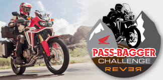 Rever and Honda present the Honda Pass Bagger Challenge.