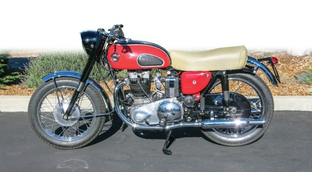 1958 Ariel Cyclone Twin 650