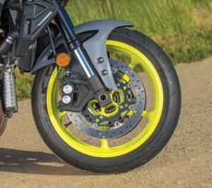 Yamaha FZ-10 touring