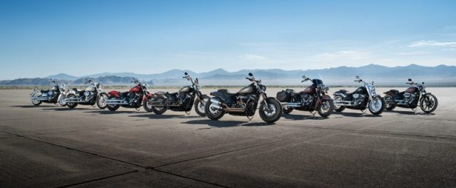 The 2018 Harley-Davidson Softail lineup