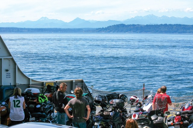 Washington state motorcycle ride