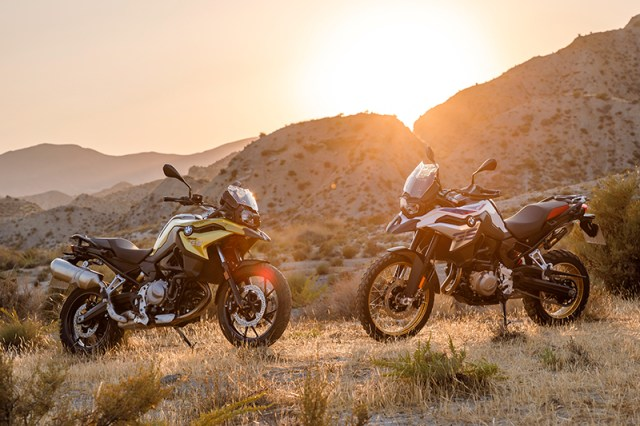 2018 BMW F 750 GS and F 850 GS