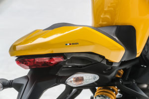 2018 Ducati Monster 821 tail