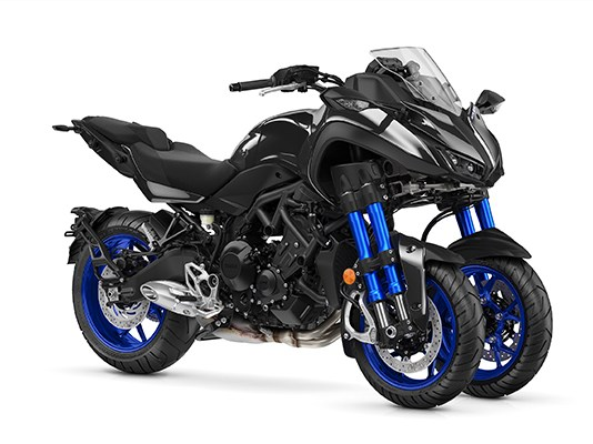 2019 Yamaha Niken Leaning Multi Wheel motorcycle