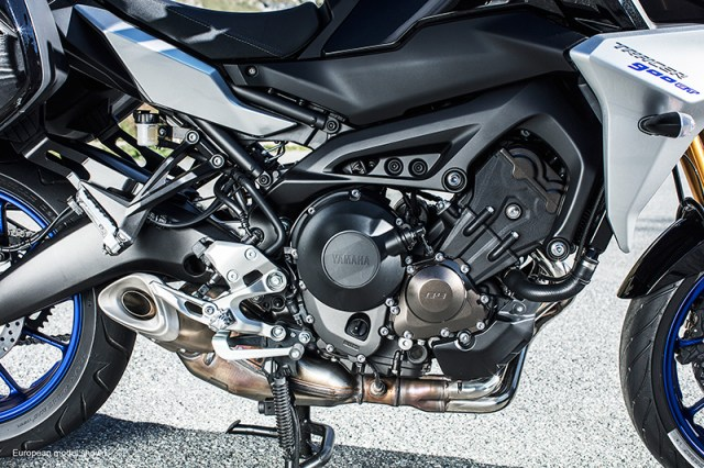 2019 Yamaha Tracer 900 engine