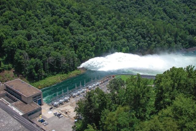 Tennessee Dam Ride