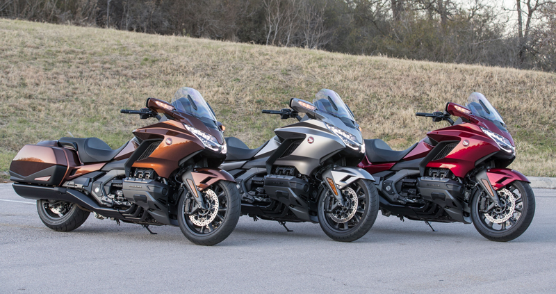 2018 Honda Gold Wing Tour First U S Ride Review Rider Magazine