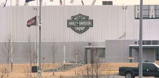 Harley-Davidson's Kansas City plant. Photo courtesy of FOX4.