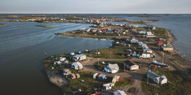 Tuktoyaktuk, Northwest Territories, Canada.