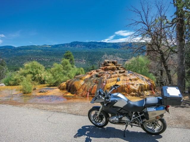 Colorado motorcycle ride
