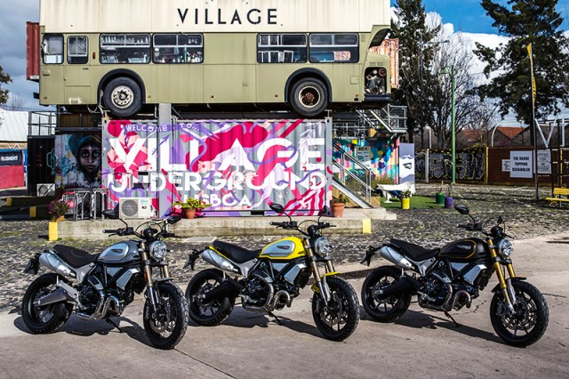 2018 Ducati Scrambler 1100, Special and Sport