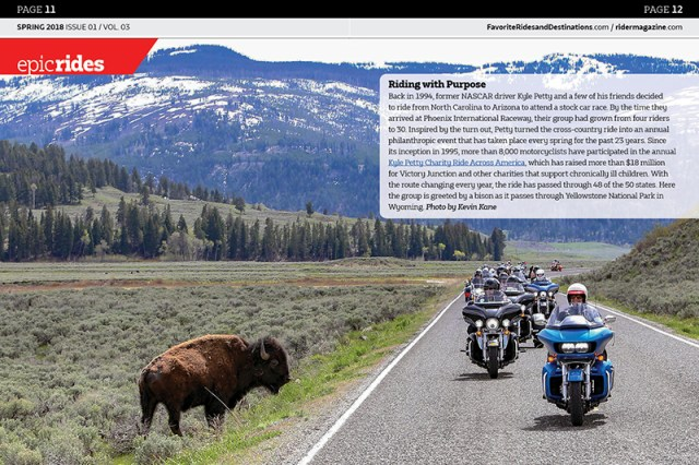 Favorite Rides and Destinations #5 Spring 2018 Epic Rides