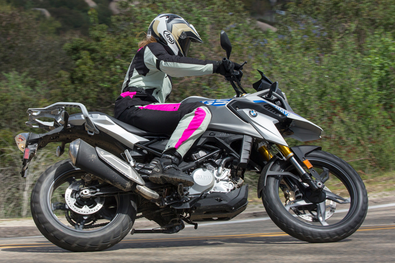 2018 bmw g 310 gs first ride review rider magazine. Black Bedroom Furniture Sets. Home Design Ideas