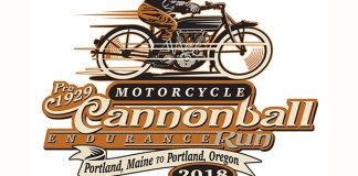 2018 Motorcycle Cannonball Endurance Run logo