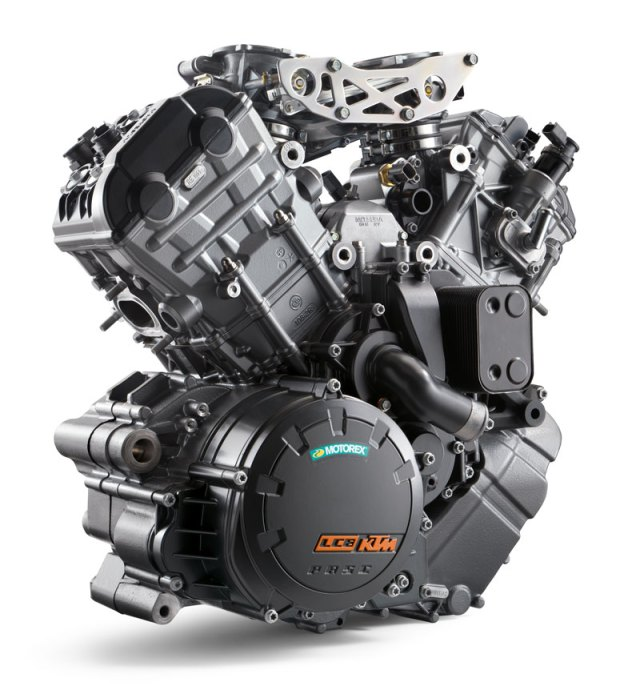 2018 KTM 1290 Super Adventure S engine