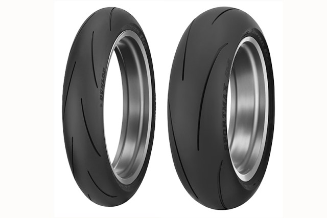 Dunlop Sportmax Q4 front and rear tires