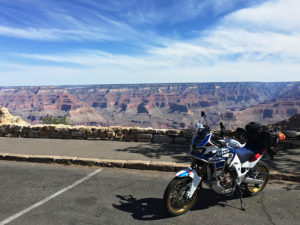 2018 Honda Africa Twin Adventure Sports North Rim Grand Canyon