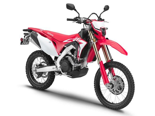 New Honda Motorcycles 2018 >> 2019 Honda CRF450L | First Look Review
