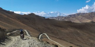 Himalayan motorcycle adventure