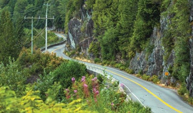 Vancouver Island motorcycle ride