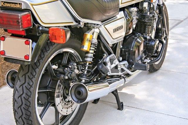 1982 Kawasaki KZ1000J2.