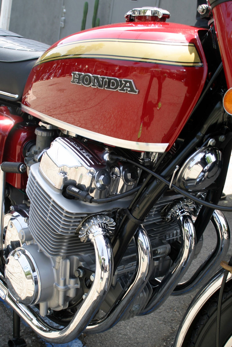 medium resolution of honda cb750 a few details will be completed and then with a push of the button or a kick of the starter lever a lucky winner will ride off with a very