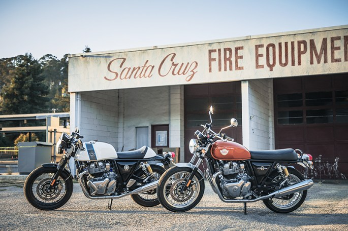 2019 Royal Enfield Continental GT and Interceptor 650