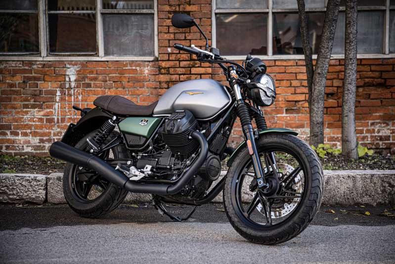 2021 Moto Guzzi V7 Stone Centenario