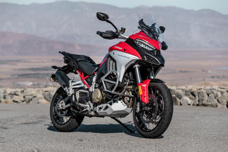 2021 Ducati Multistrada V4 S Seat Height